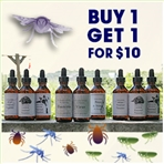 Buy 1 Get 1 for $10: Bites, Stings & Suckers Solutions