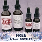 2-Bottle Combo: ETS for Humans and Essence of Perelandra (EoP), 2 oz. with free 1/2 oz!