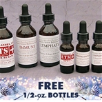 Beginner 3-Bottle Combo: ETS, Immune & Lymphatic, 2 oz. with free 1/2 oz!