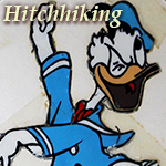 Hitchhiking with Donald Duck