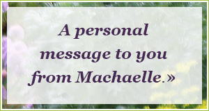 message from Machaelle