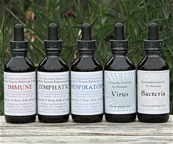 5-Bottle Combo: Virus, Bacteria, Immune, Lymphatic & Respiratory