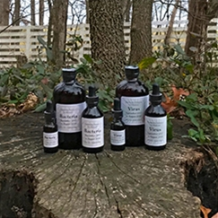 Individual Bacteria or Virus Solution Bottles