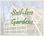 Soil-less Gardens for Beginners